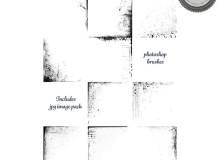 破旧背景痕迹PS笔刷纹理素材