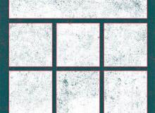 10种点点斑驳痕迹、垃圾纹理背景PS笔刷素材下载