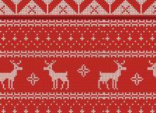4种可无缝拼接的圣诞节针织衫纹理图案填充Photoshop底纹素材.pat