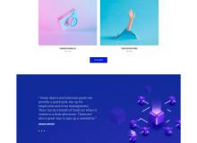 MI CREATIVE – 视觉设计web模板草图设计素材(sketch源文件格式下载)