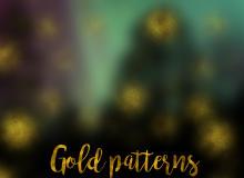 7种金沙、金粉纹理PS填充背景素材下载