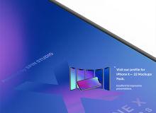 iPhone X 等比例样机、iPhone 手机模板 – Sketch模板素材免费下载