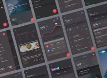 金融财务App UI 模板素材 – Sketch 源文件下载