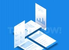 简洁 Web Mobile 框架工具包 – Adobe XD模板素材