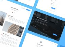 一套小清新风格的Web模板素材 – Sketch 设计素材免费下载