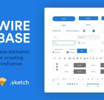 Web 搜索框、按钮、文本框等元素 – Sketch 设计模板下载