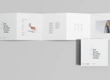 五折页宣传广告模板 – PSD源文件素材下载
