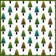 小树、盆栽图案Photoshop填充图案底纹素材.pat 免费下载