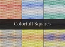 彩色方块背景纹理PS填充底纹素材下载