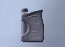 机油瓶子、塑料瓶样机素材 – PSD模版下载