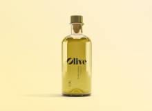 高品质橄榄油瓶子样机素材 – PSD模版下载
