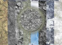 岩层、石壁、石材表面等无缝拼接模式Photoshop填充图案底纹素材.pat 免费下载