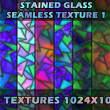 10种三角形彩色玻璃纹理PS背景笔刷素材(JPG格式,可无缝拼接!)