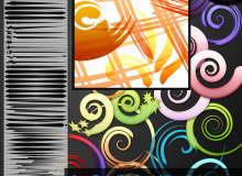 48种Illustrator艺术笔刷/Ai画笔素材免费打包下载