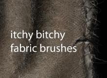 编织物纹理素材笔触Photoshop笔刷素材下载