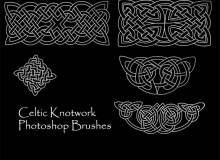 中欧式手绘印花图案Photoshop笔刷下载