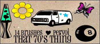 房车、蝴蝶、台球、太阳花朵等图案PS照片装饰涂鸦笔刷下载