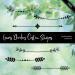 手绘小清新植物叶子枝条花纹图案Photoshop自定义形状素材 .csh 下载