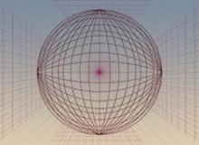 3D球体快速线条透视图Photoshop形状素材免费下载
