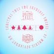 圣诞节星星、圣诞树图形装饰PS笔刷下载