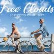 真实的高清白云、云彩Photoshop云朵笔刷素材