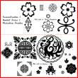中华传统古典印花图案风格PS笔刷下载
