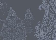 印度神像图案纹理Photoshop宗教元素笔刷