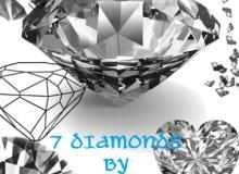 7种钻石图像Photoshop笔刷下载