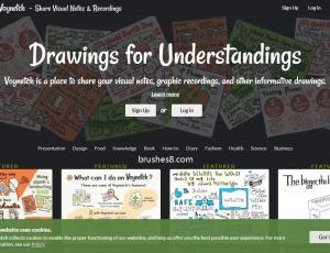 分享你的视觉笔记、图形草稿、信息流图 – Voynetch