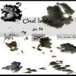 白云背景图形PS笔刷(JPG图片素材)