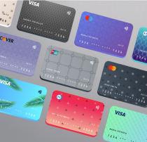 各国信用卡、银行卡模板素材 – Sketch 模板设计素材下载