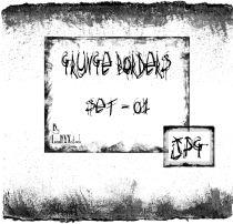 水泥墙面边框、旧的纸张痕迹边界PS笔刷素材下载(JPG图片格式)