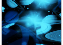 土星、星环、行星等Photoshop宇宙元素笔刷下载