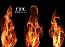20种高清、超清火焰、火苗、燃烧火焰效果PS笔刷素材免费下载