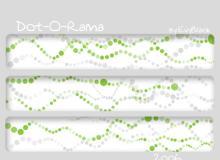 小圆点背景散布图案装饰PS笔刷下载