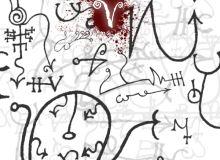 神秘的死亡笔迹符号PS笔刷素材下载