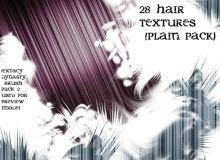 高光头发丝纹理竖线PS背景笔刷(JPG图片格式)
