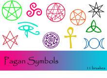 异教徒符号PS笔刷下载