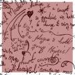 可爱小女生涂鸦笔迹图案PS笔刷下载