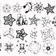 梦幻魔力花纹图形、大风车图案PS笔刷下载