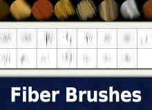 15种纤维纹理效果PS笔刷材质素材下载