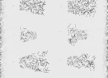 散落的钉子纹理、针状分布图PS笔刷素材下载