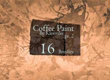 16种油漆水墨污渍涂抹混乱纹理PS笔刷素材下载