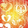 魔幻爱心、心形轮廓图案PS爱心笔刷