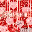 恋爱爱心图案、性感红唇PS笔刷素材下载