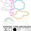 手绘涂鸦云朵、彩虹、下雨云平安彩票娱乐平台