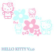 超可爱的Hello Kitty、呆萌卡通猫咪Photoshop笔刷素材