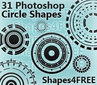 31种机械齿轮风格的印花图案PS废土、复古印花笔刷