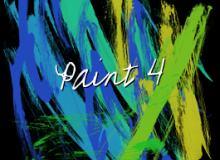 油漆毛刷、颜料画笔PS涂痕笔刷