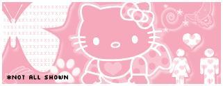 卡通猫咪、美图装饰元素PS笔刷素材